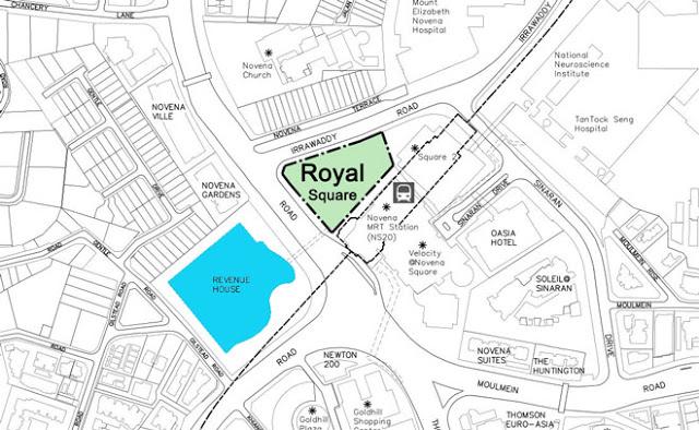 Royal Square Novena Location Map royal square @ novena Royal Square @ Novena | Showflat Hotline +65 6100 7122 198