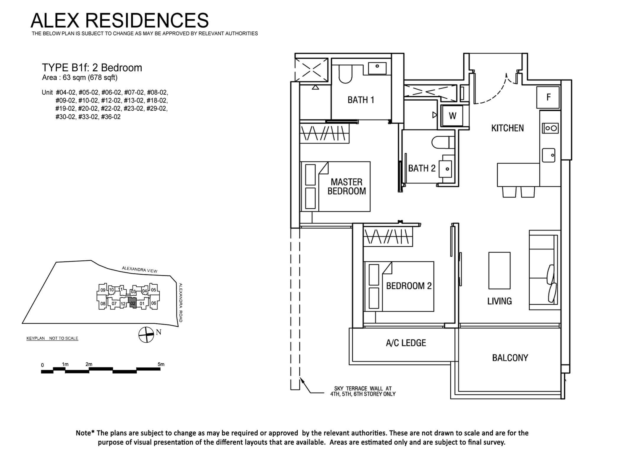 Alex-Residences floor planAlex-Residences floor plan alex residences Alex Residences | Showflat Hotline +65 6100 7122 2 BEDROOM stack 02