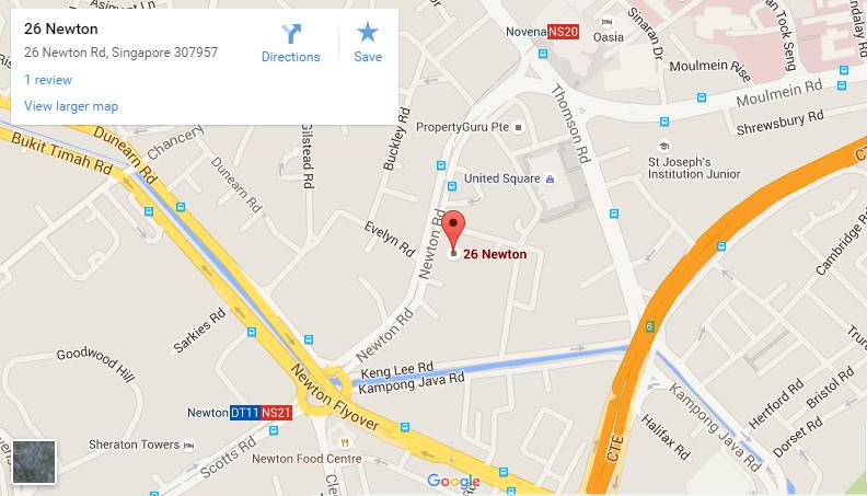 26-Newton google map 26 newton 26 Newton Singapore| Showflat Hotline +65 61007122 26 Newton google map