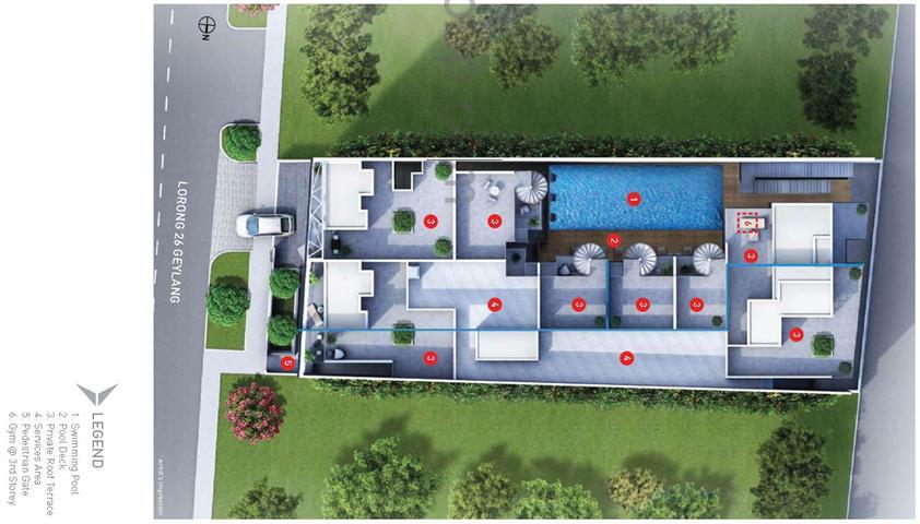 28-Imperial-Residences-Siteplan- 28 imperial residences 28 Imperial Residences Singapore |Showflat Hotline 61007122 28 Imperial Residences Siteplan