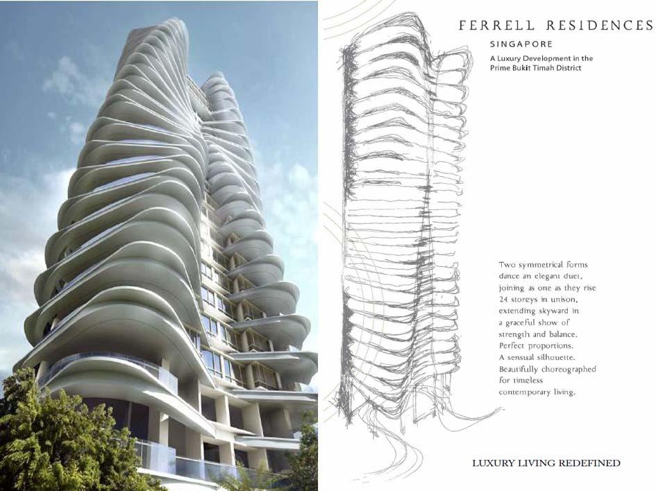Ferrell Residences Singapore ferrell residences Ferrell Residences Singapore |Showflat Hotline 61007122 Ferrell Residences Facade