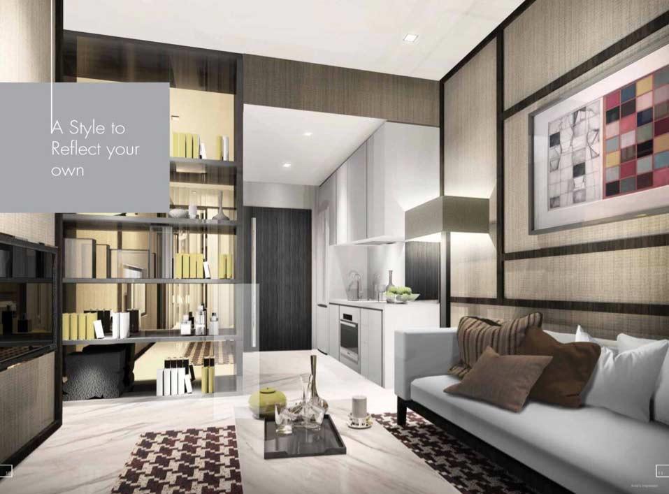 Liberte @ Sarkies-Singapore-Floor-Unit-Living-Room