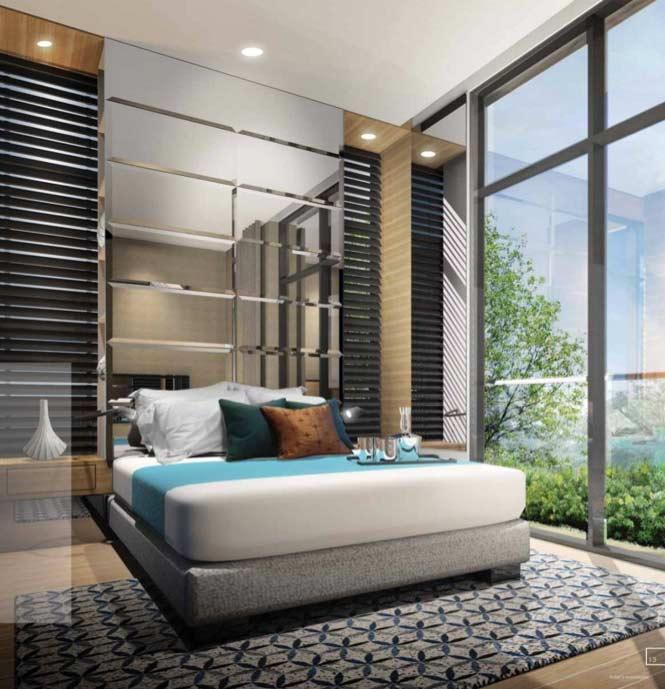 Liberte-Sarkies-Singapore Master-Bedroom