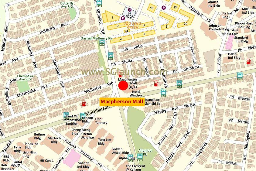 Macpherson Mall M2 Location Map macpherson mall Macpherson Mall Singapore | Showflat Hotline +65 6100 7122 Macpherson Mall M2 Location Map