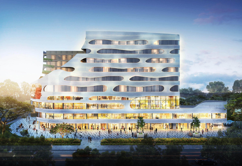 Macpherson Mall SG launch macpherson mall Macpherson Mall Singapore | Showflat Hotline +65 6100 7122 Macpherson Square Facade Evening