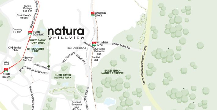 Natura@Hillview map natura hillview Natura Hillview | Showflat Hotline +65 97555202 | View Actual Unit Natura Hillview map