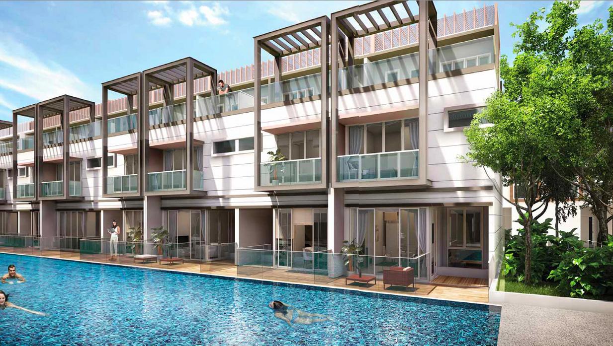 Newest @ West Coast-Singapore Commercial Pool 2Triplex