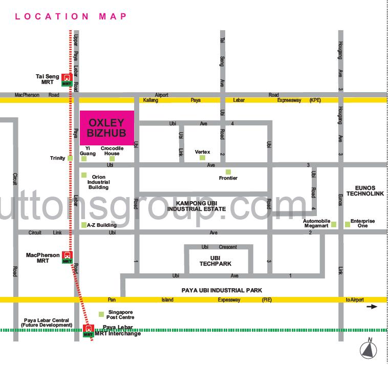 Oxley BizHub LocationMap oxley bizhub Oxley Bizhub Singapore | Showflat Hotline +65 61007122 Oxley BizHub LocationMap