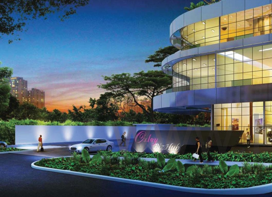 Oxley-BizHub NightView oxley bizhub Oxley Bizhub Singapore | Showflat Hotline +65 61007122 Oxley BizHub NightView