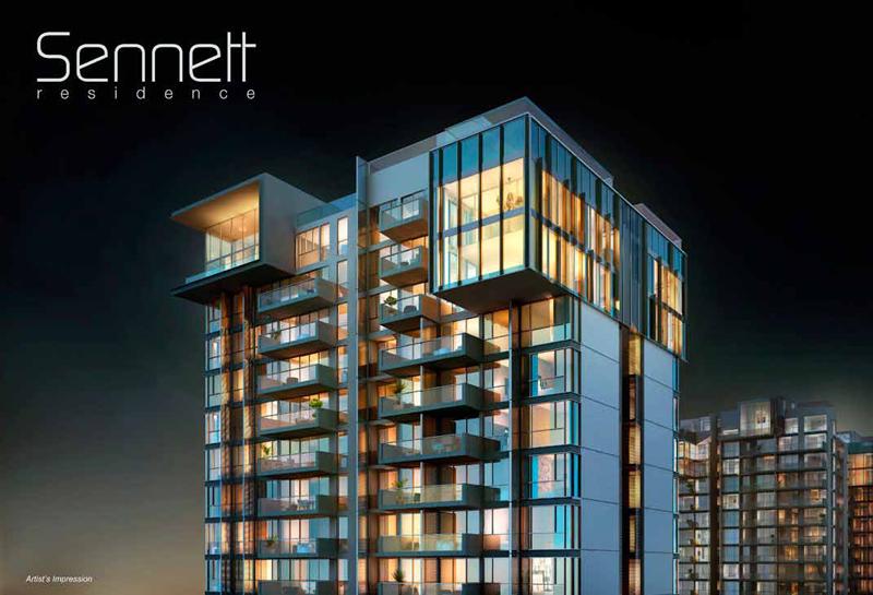 The Sennett Residence-Singapore NightView the sennett residence The Sennett Residence Singapore |Showflat Hotline 61007122 Sennett Residence Top Storey View
