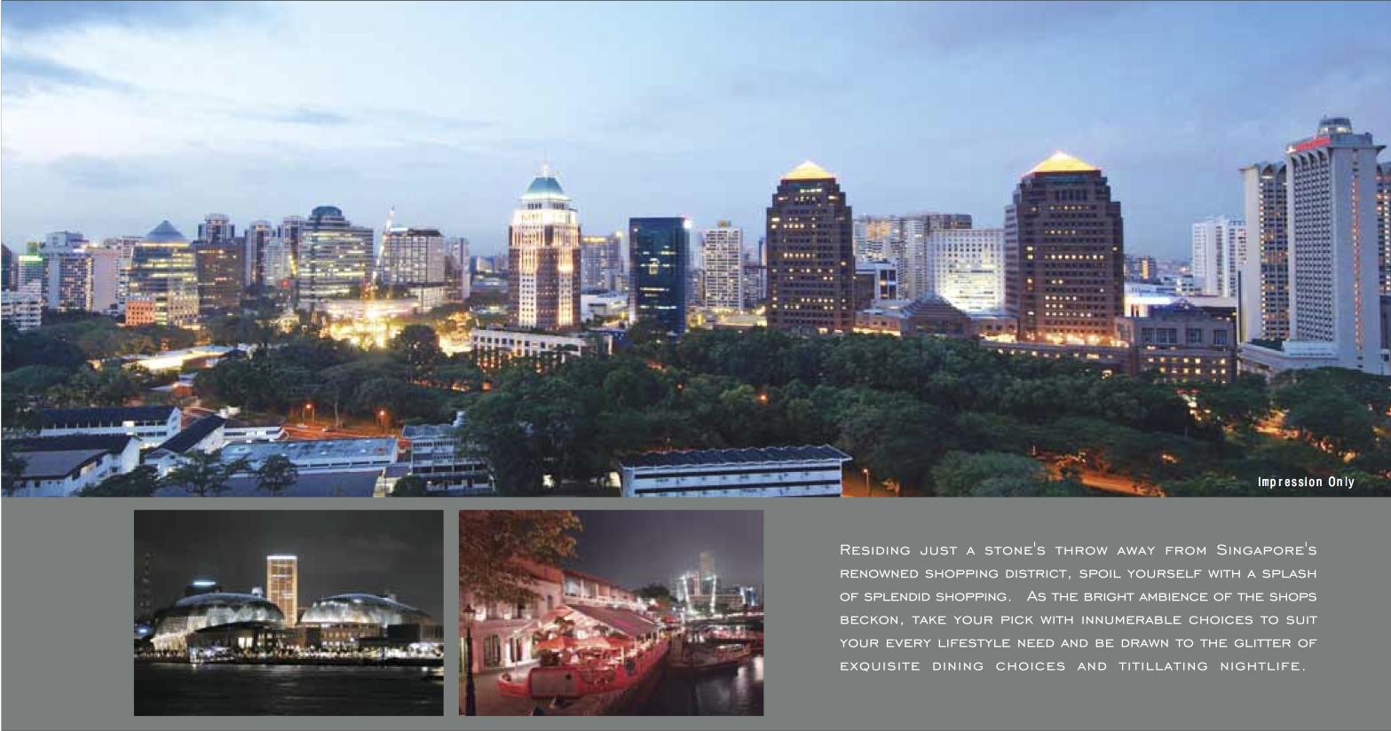 Starlight Suites Singapore View