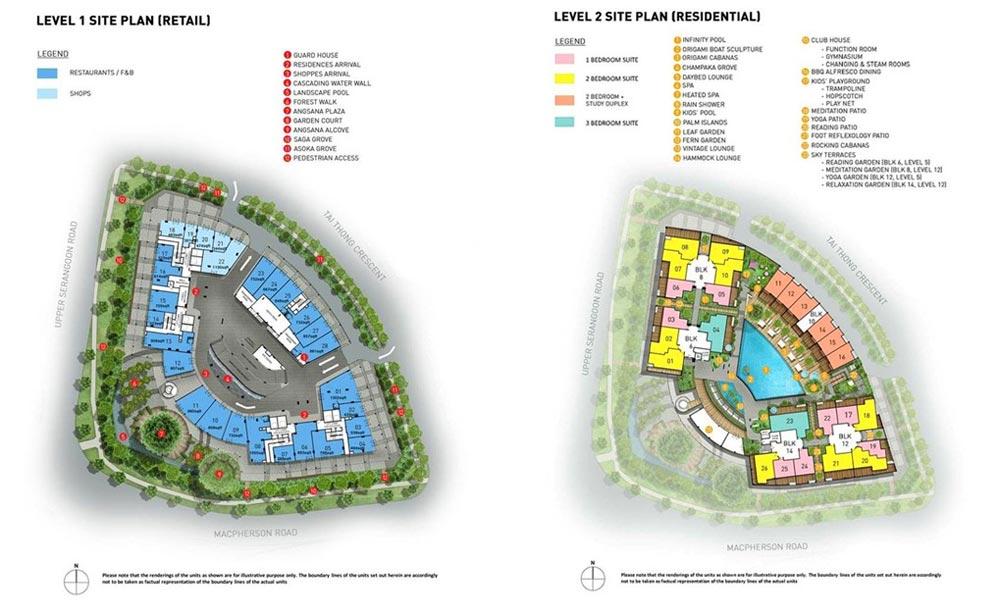 The-Venue Siteplan the venue The Venue Singapore | Showflat Hotline 61007122 The Venue Siteplan