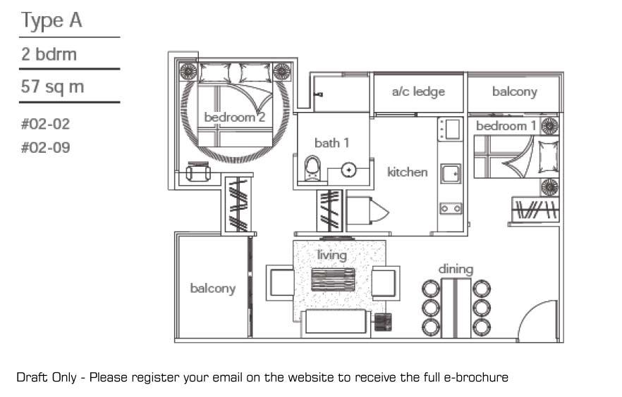 LEVILLE ISUITES Singapore Floor Plan leville isuites LEVILLE ISUITES Singapore | Showflat Hotline +65 6100 7122 floorplan01
