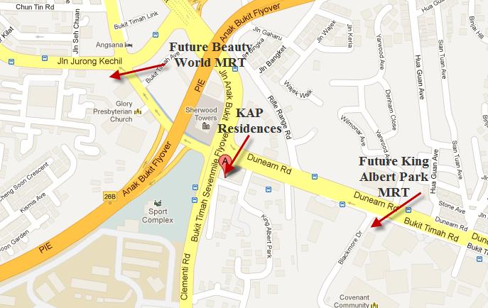 kap-Map kap residences KAP Residences |Showflat Hotline +65 61007122 future mrt1