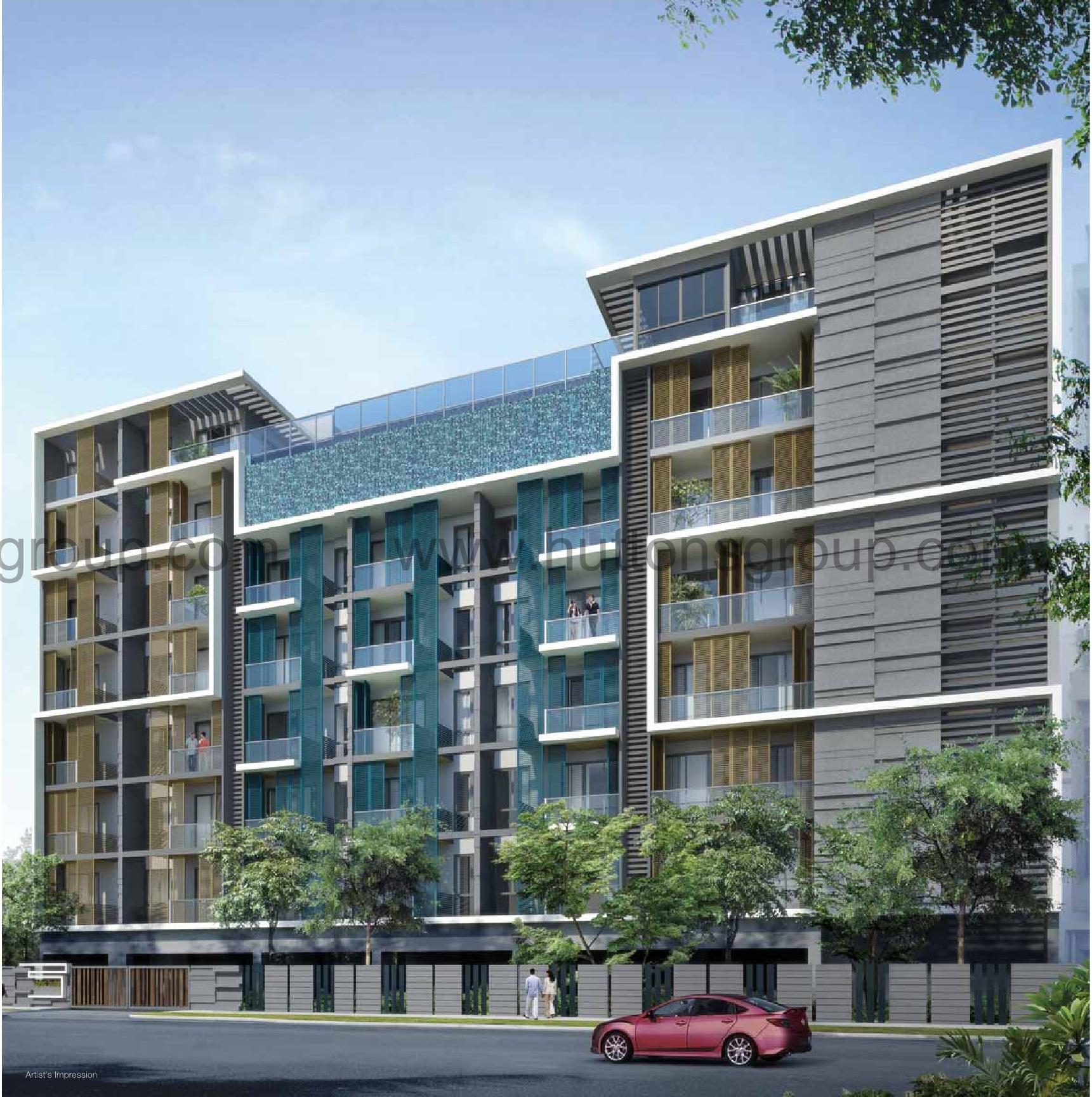 Idyllic-Suites Facade idyllic suites Idyllic Suites Singapore   Showflat Hotline +65 61007122 idyllic suites facade1