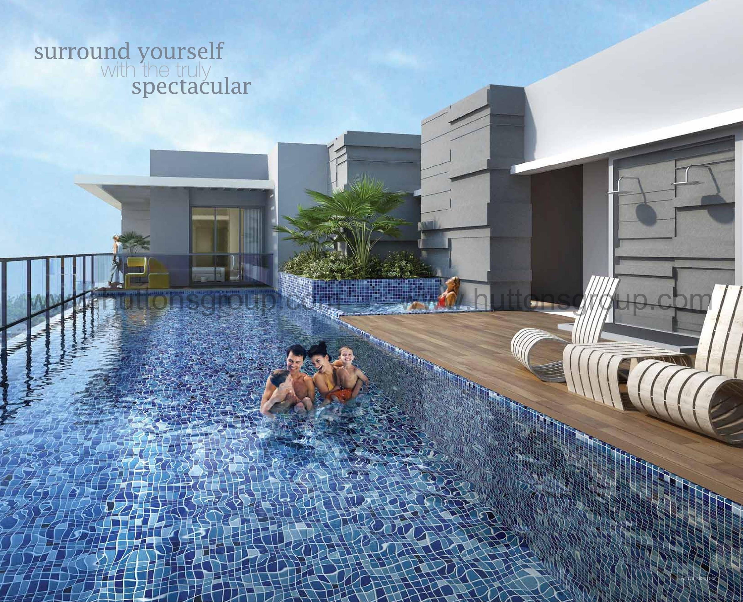 Idyllic-Suites Pool 2 idyllic suites Idyllic Suites Singapore   Showflat Hotline +65 61007122 idyllic suites pool 2
