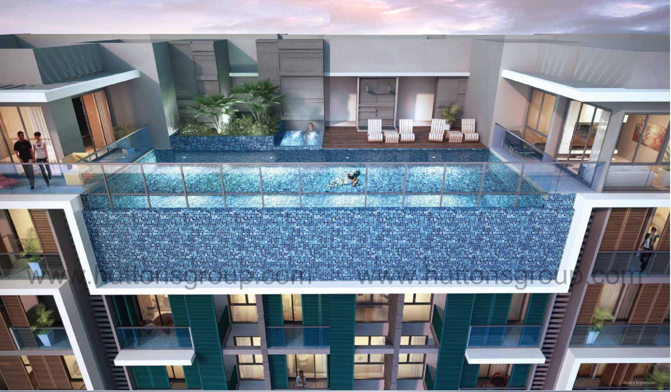 Idyllic-Suites Pool idyllic suites Idyllic Suites Singapore   Showflat Hotline +65 61007122 idyllic suites pool