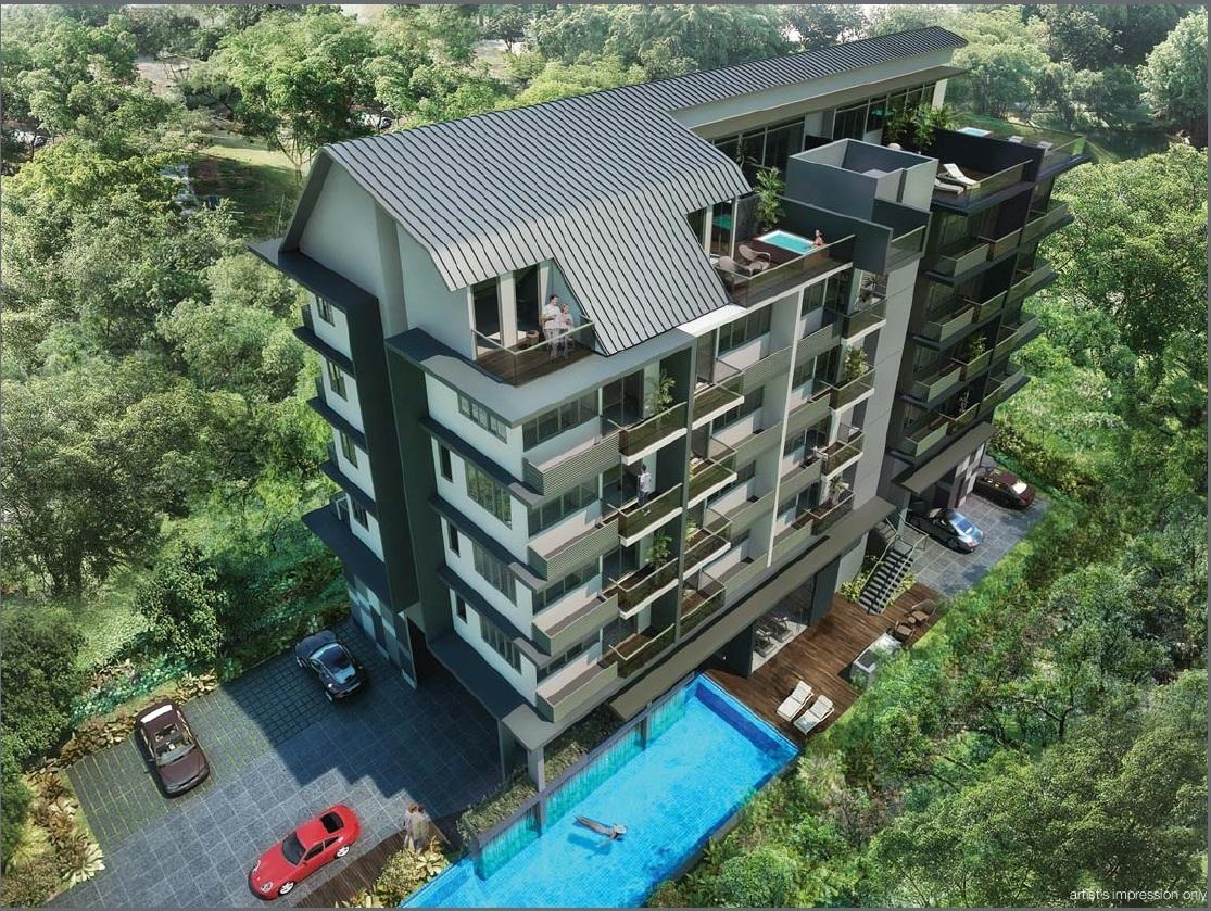 Laverne's Loft Pool View lavernes loft Lavernes Loft Singapore   Showflat Hotline +65 61007122 lavernes loft pool view