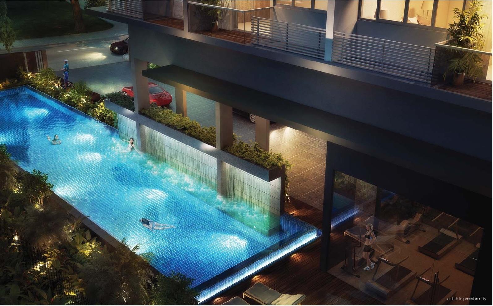 Laverne's Loft Pool lavernes loft Lavernes Loft Singapore   Showflat Hotline +65 61007122 lavernes loft pool
