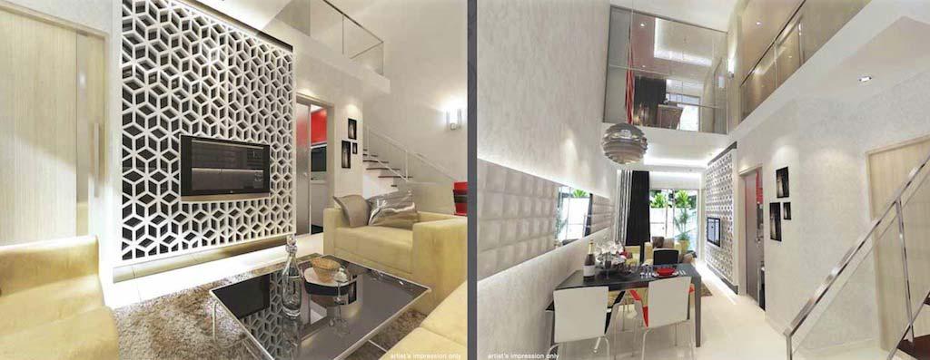 LEVILLE ISUITES-Singapore Living leville isuites LEVILLE ISUITES Singapore | Showflat Hotline +65 6100 7122 leville duplex unit