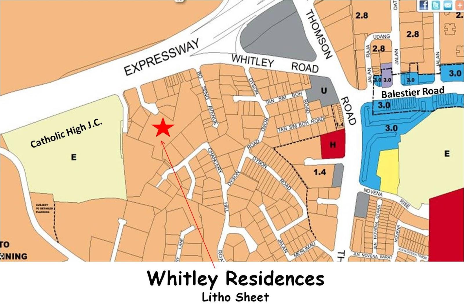 the-whitley-residences map the whitley residences The Whitley Residences Singapore | Showflat Hotline +65 6100 7122 litho