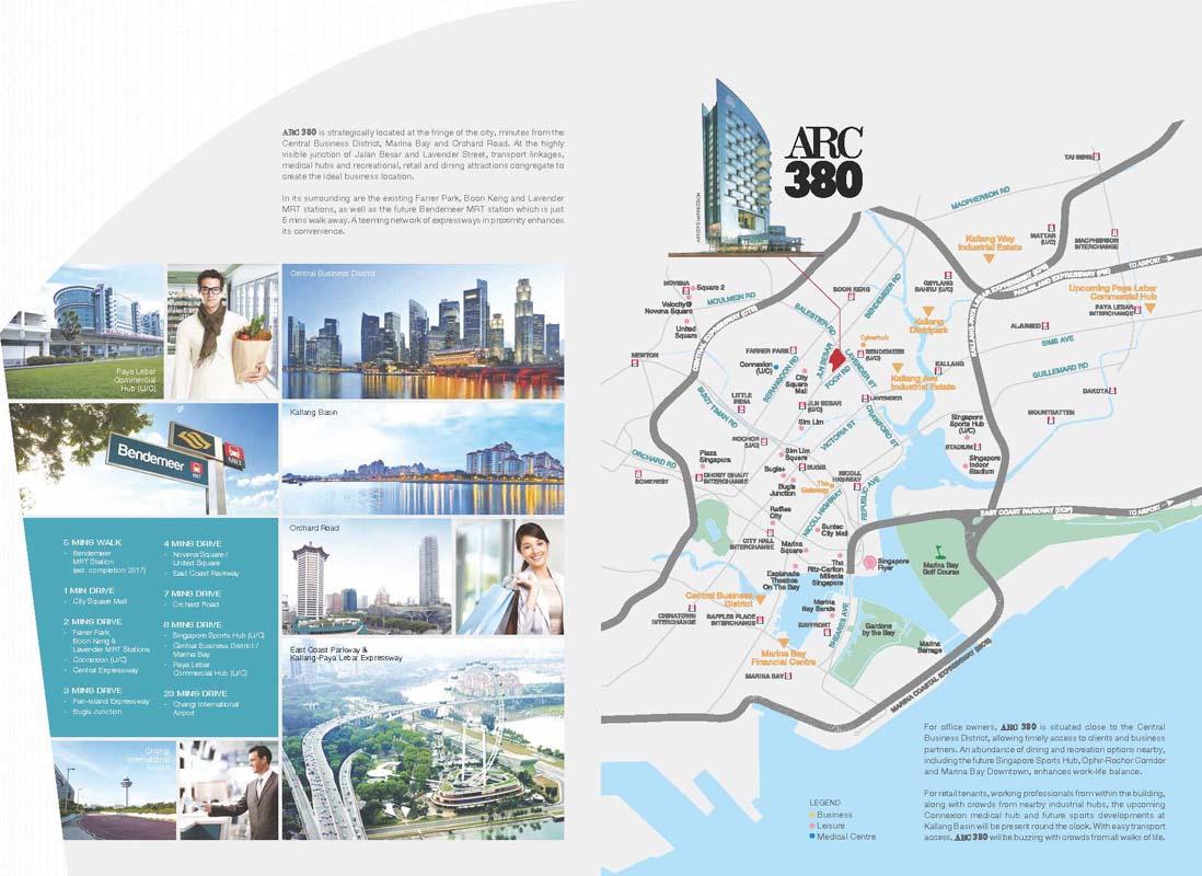 ARC 380 Locationmap