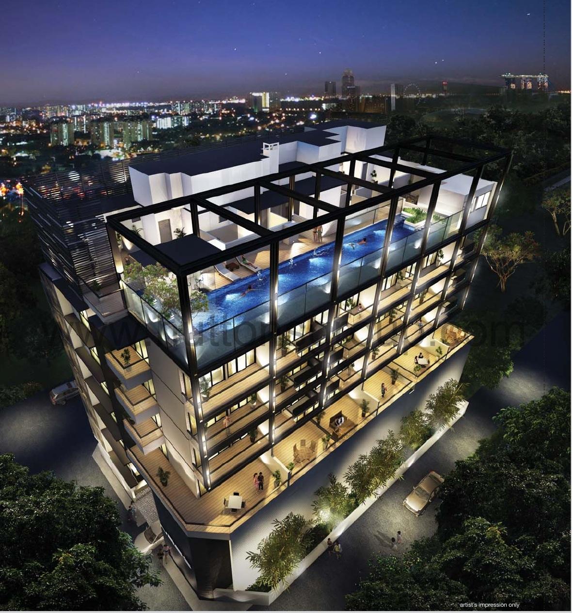 Ness @ Geylang Singapore ness @ geylang Ness @ Geylang Singapore| Showflat Hotline +65 61007122 ness nite view