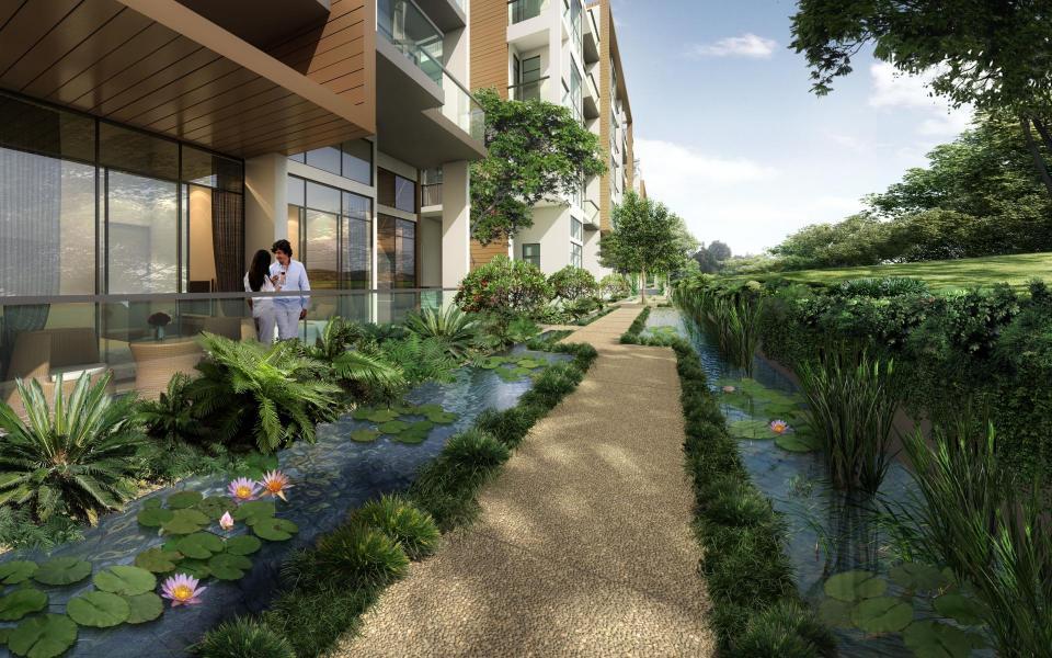 pathway-of-tropika-east tropika east Tropika East Singapore| Showflat Hotline +65 61007122 pathway of tropika east