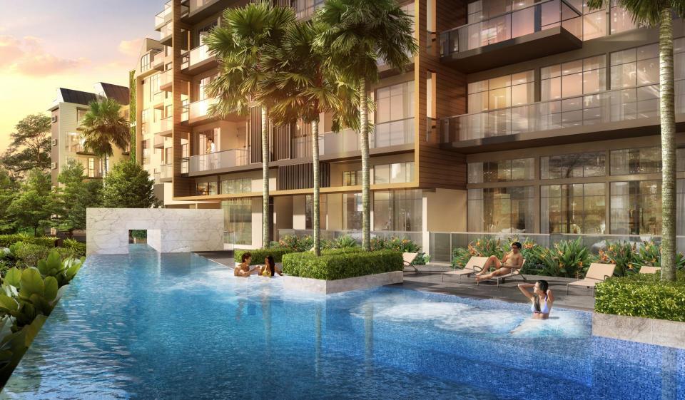 pool-view-of-tropika-east tropika east Tropika East Singapore| Showflat Hotline +65 61007122 pool view of tropika east