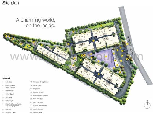 MON JERVIOS-Singapore Siteplan mon jervois Mon Jervois  Showflat Hotline +65 61007122   T.O.P 2016 siteplan21