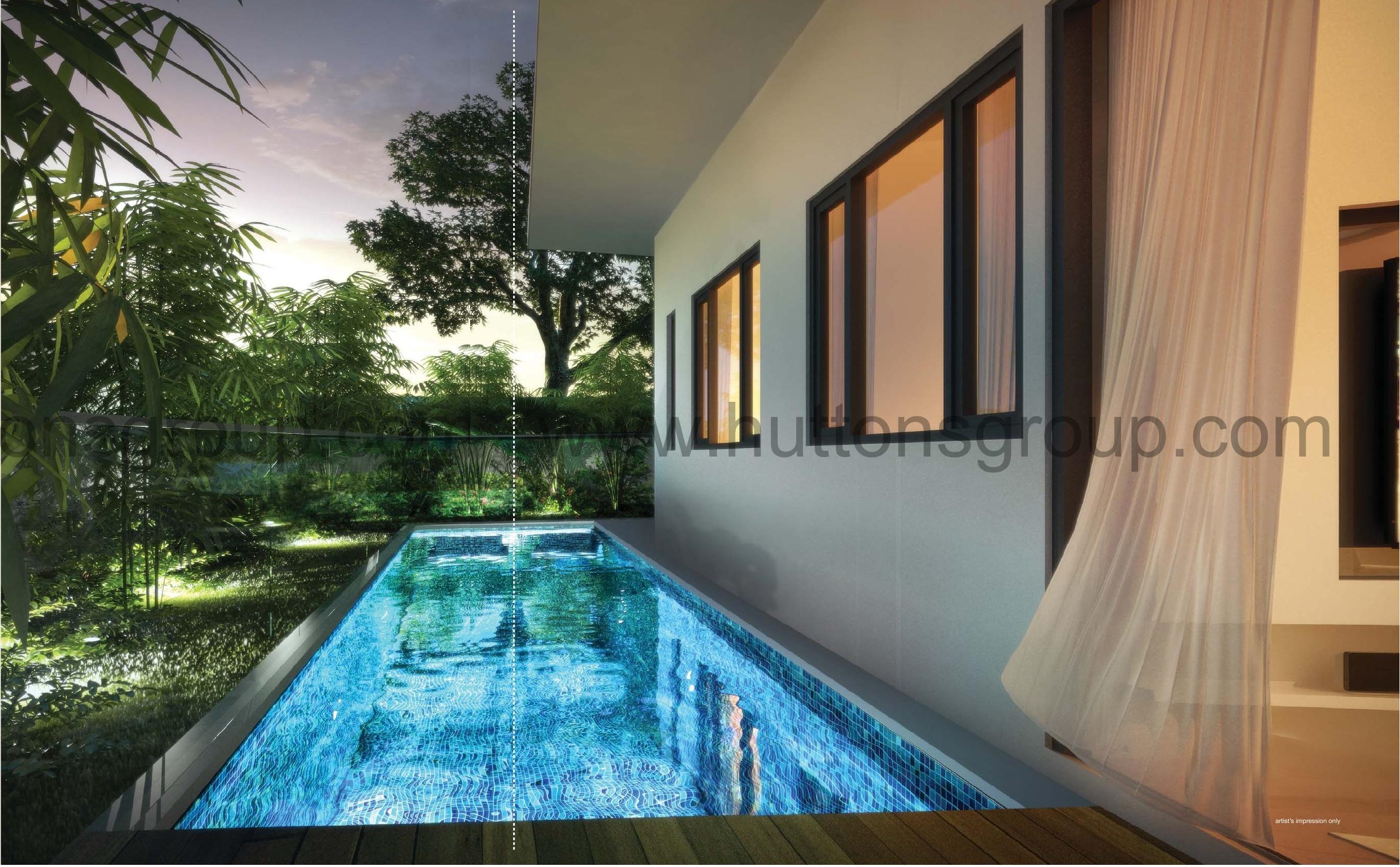 Tree-Scape private pool treescape TreeScape Singapore | Showflat Hotline +65 61007122 treescape private pool1