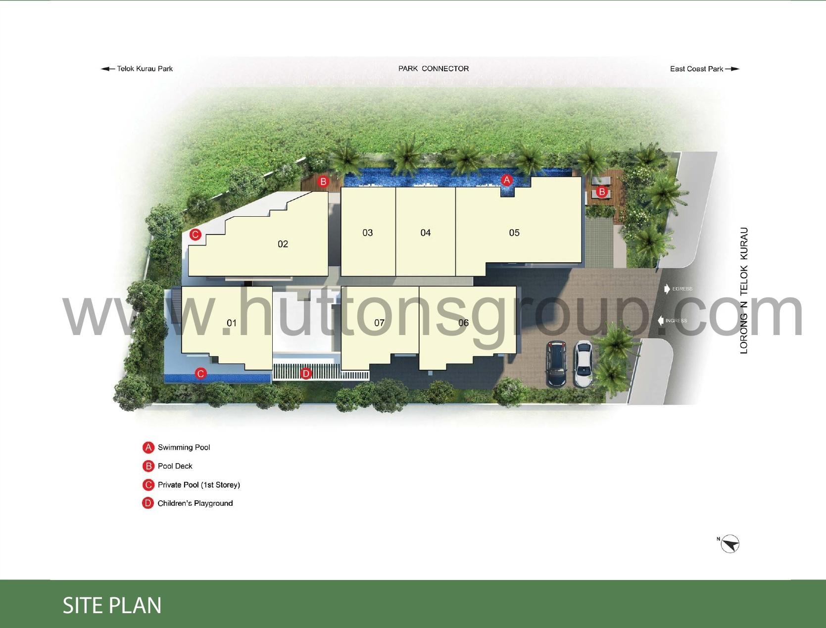 Tree-Scape site plan treescape TreeScape Singapore | Showflat Hotline +65 61007122 treescape site plan