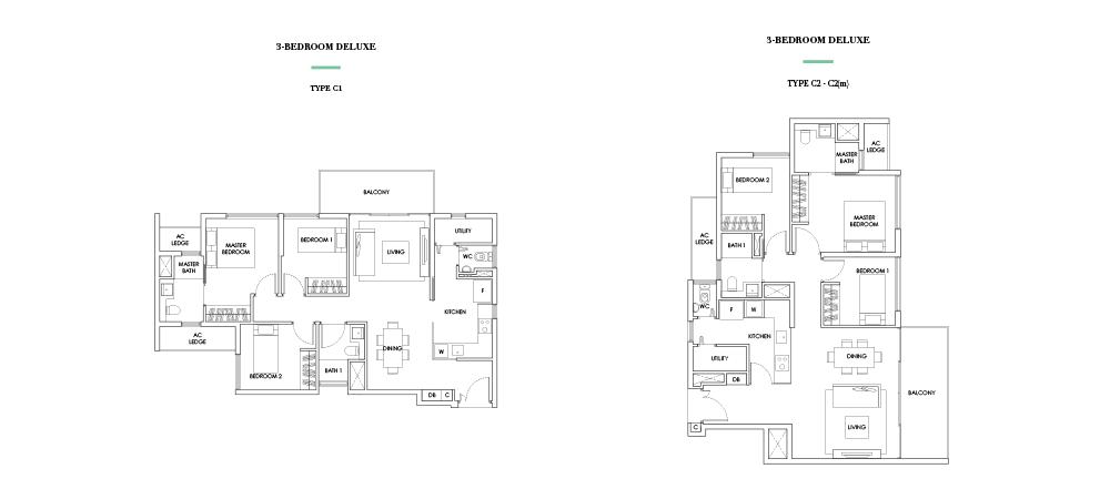 highline-residences singapore floor plan highline residences HIGHLINE RESIDENCES | Showflat Hotline +65 61007122 | Developer Sales floor plans2