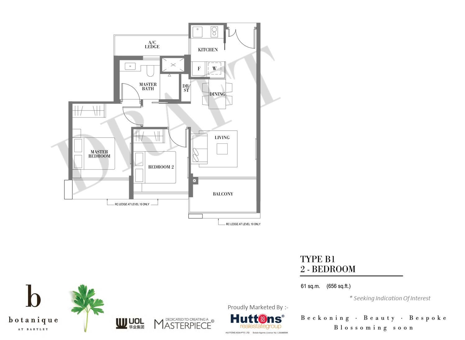 Botanique Bartley bedroom plans botanique @ bartley Botanique @ Bartley By UOL  Showflat Hotline +65 61007122  Bartley MRT 54ec29b14c4642015 02 24 03 35 13