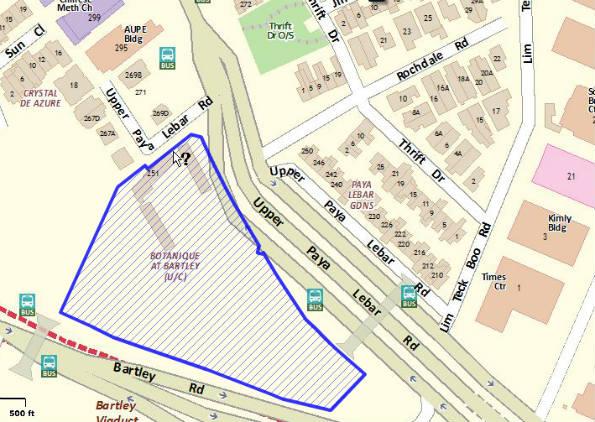 botanique-map singapore botanique @ bartley Botanique @ Bartley By UOL  Showflat Hotline +65 61007122  Bartley MRT botanique map