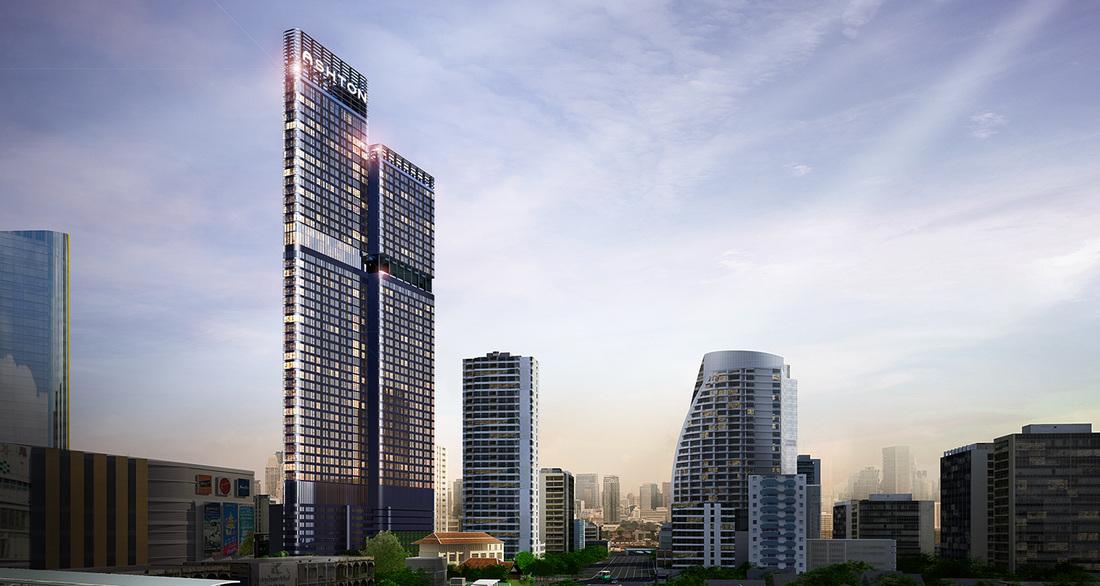 ASHTON Asoke Bangkok, Thailand ashton asoke bangkok ASHTON Asoke Bangkok |Showflat Hotline +65 61007122 Ashton Asoke facade