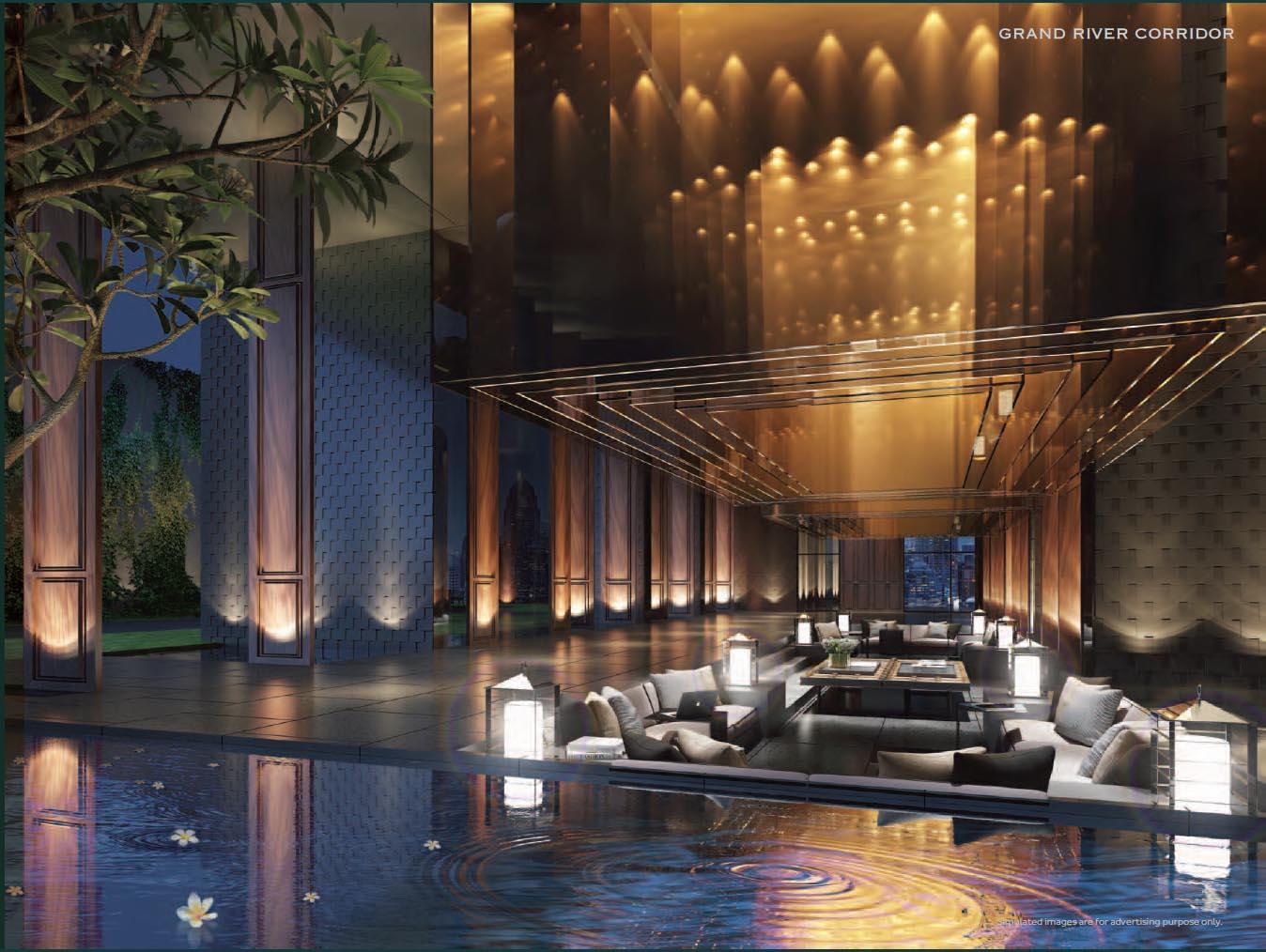 ASHTON-Asoke-Bangkok, Thailand Living ashton asoke bangkok ASHTON Asoke Bangkok |Showflat Hotline +65 61007122 Ashton Asoke grand river corridor