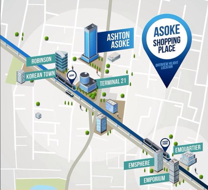 ASHTON-Asoke-Bangkok, Thailand ashton asoke bangkok ASHTON Asoke Bangkok |Showflat Hotline +65 61007122 Ashton Asoke location