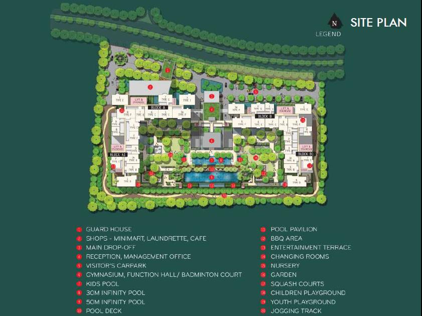 Iskandar-Residences-Medini-Malaysia Site iskandar residences Iskandar Residences Medini | Malaysia Iskandar Residences Site Plan