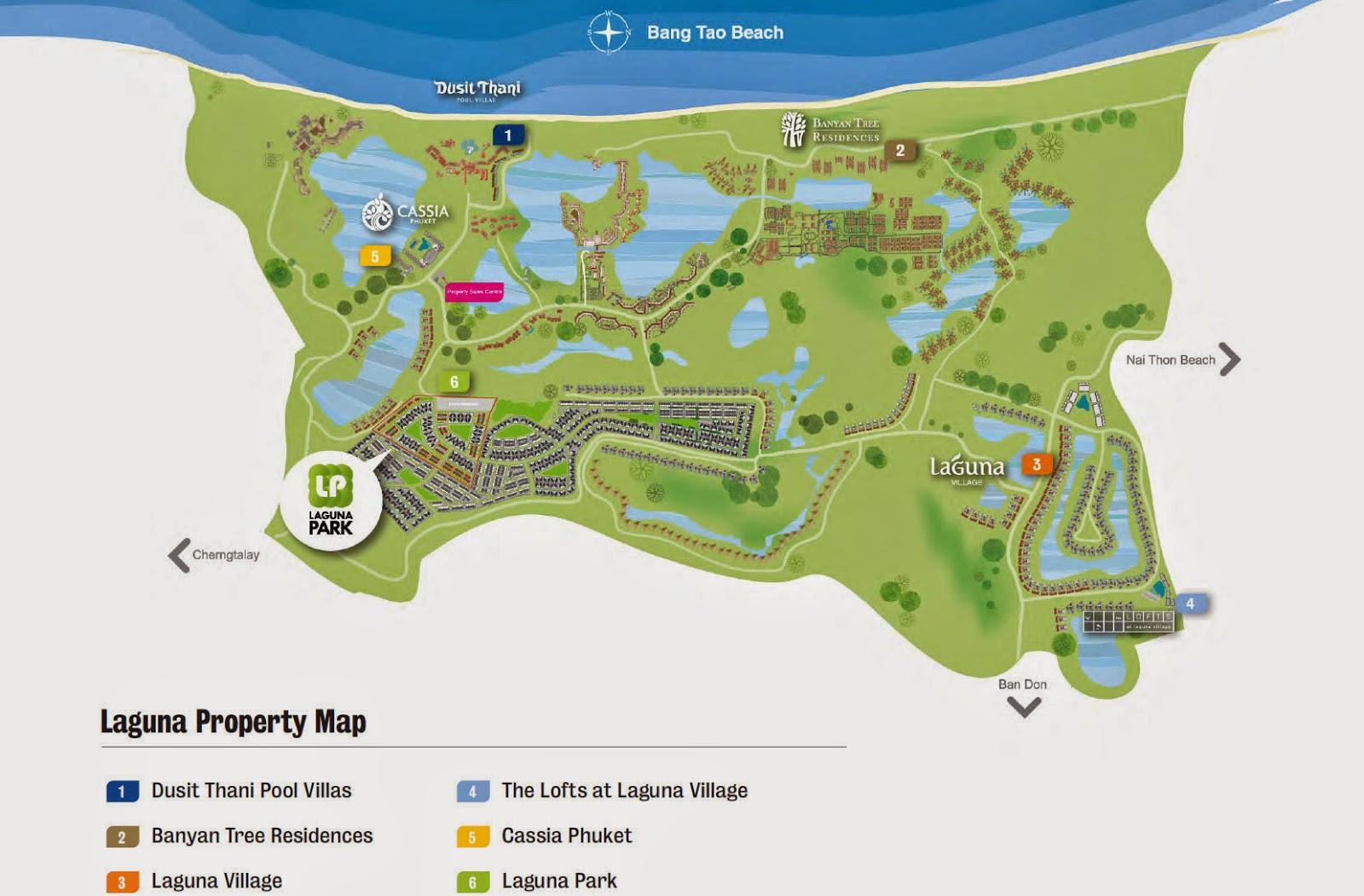 Laguna Park-Phuket-Condo-Apartments Map laguna park @ phuket condo Laguna Park @ Phuket | Showflat Hotline 61007122 Laguna Park Location site