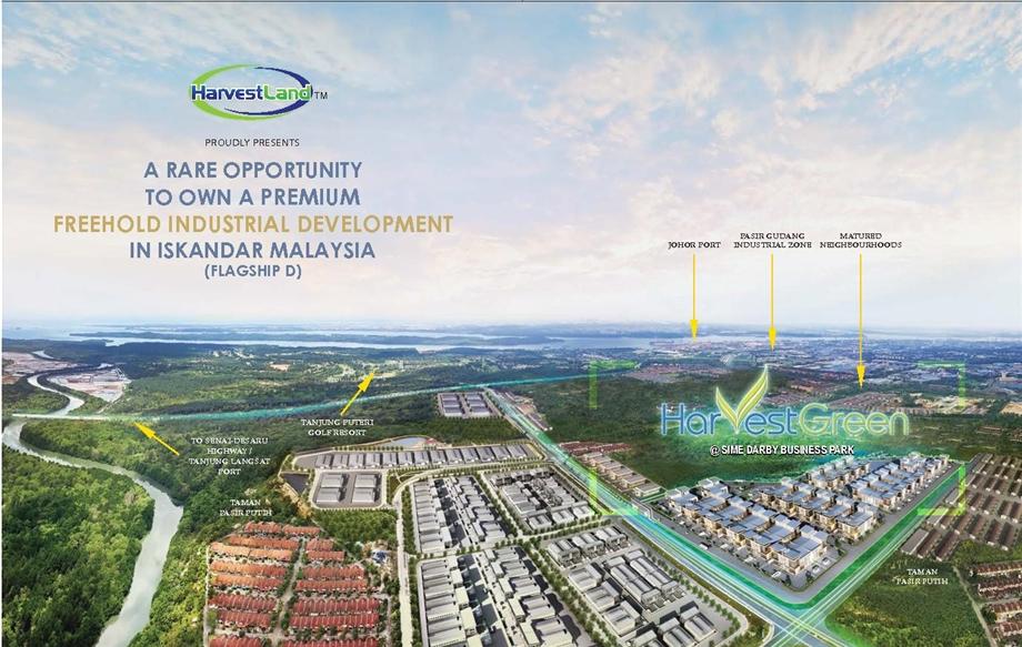Harvest-Green Industrial Park  harvest green Harvest Green Industrial Park @Sime Darby Malaysia a945b6a993a547a29bd9c39570d53885