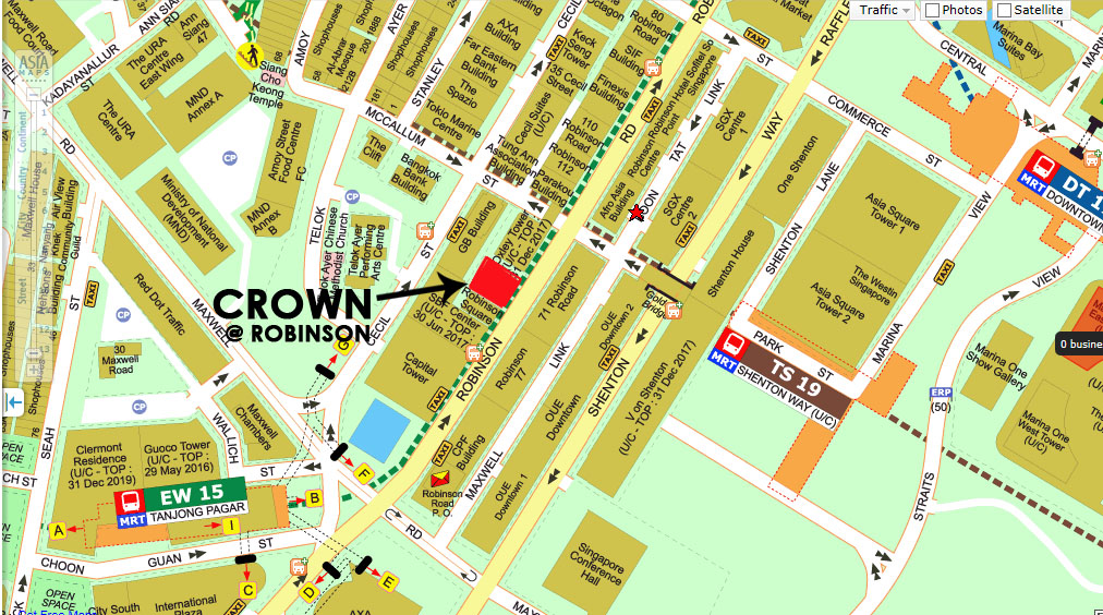 Crown-Robinson-Location-Map crown robinson Reasons to Buy Crown Robinson  | Showflat Hotline 61007122 Crown   Robinson Location Map