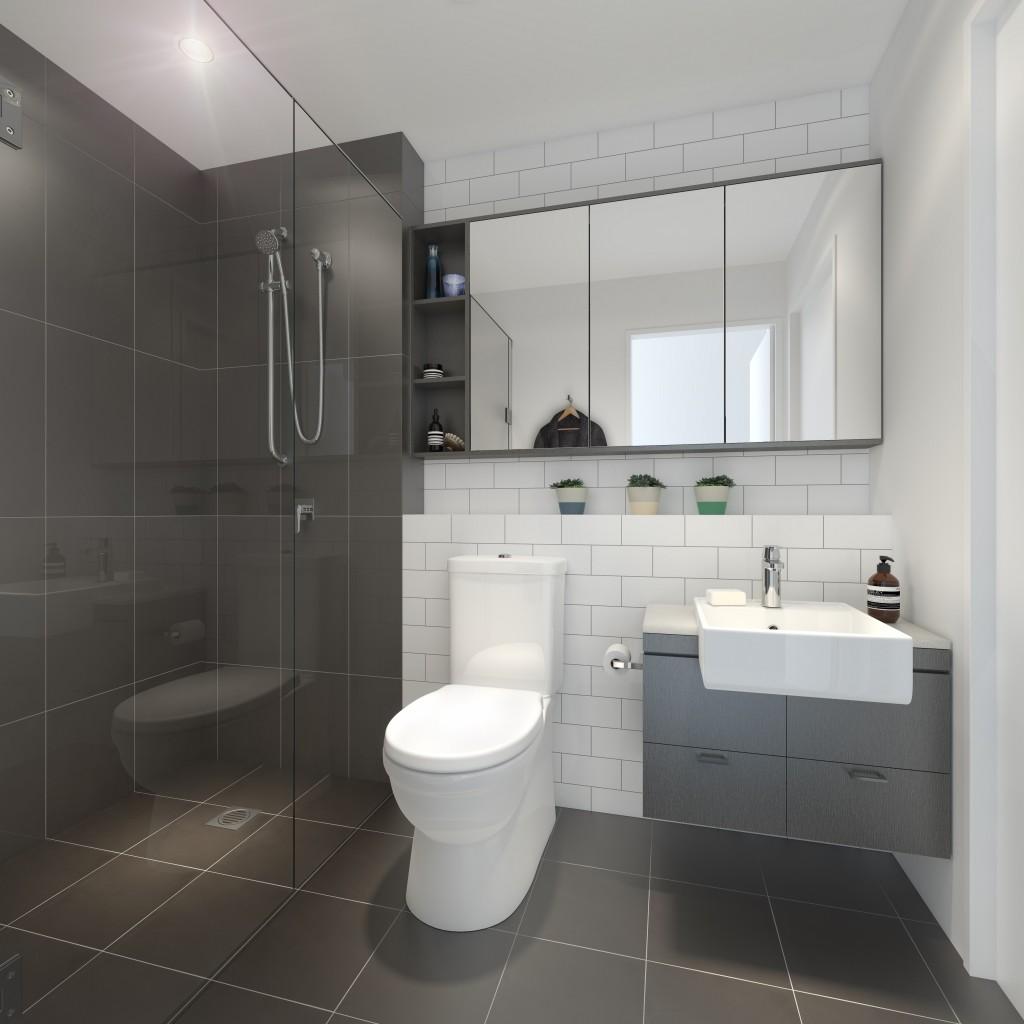 alto apartments toowong bathrooms