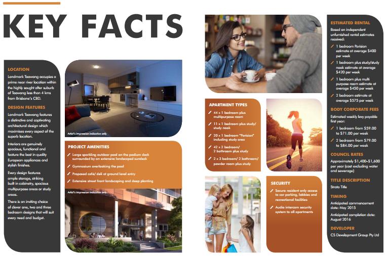 Landmark-Toowong Key facts landmark toowong Landmark Toowong , Brisbane | Australia 2015 03 19 00 20 36 Landmark Brochure
