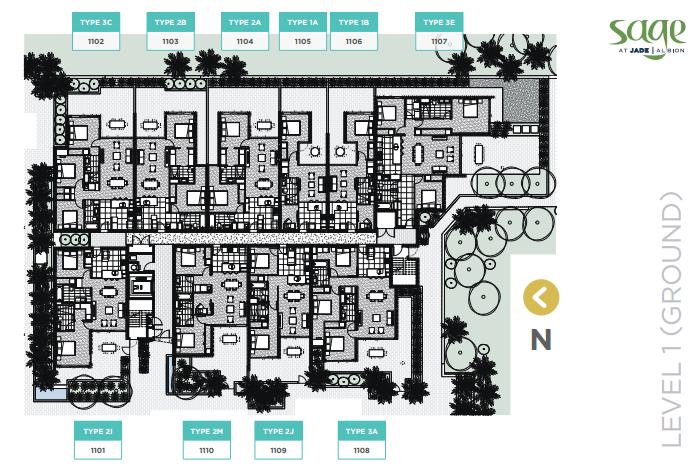 Floor Plans Sage ALL jade albion sage Jade Albion Sage - Stage 1 Residential Apartments | Brisbane 2015 03 19 18 49 21 Floor Plans Sage ALL