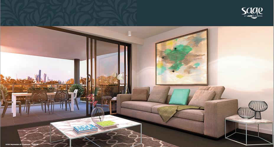 Jade Albion Sage living jade albion sage Jade Albion Sage - Stage 1 Residential Apartments | Brisbane 2015 03 19 19 28 14 Sage Brochure