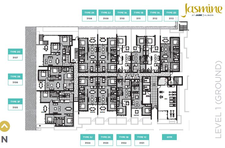 Jade Albion Jasmine floor plan jade albion jasmine Jade Albion Jasmine | Showflat Hotline 61007122 2015 03 20 00 03 55 Floor Plan Jasmine ALL