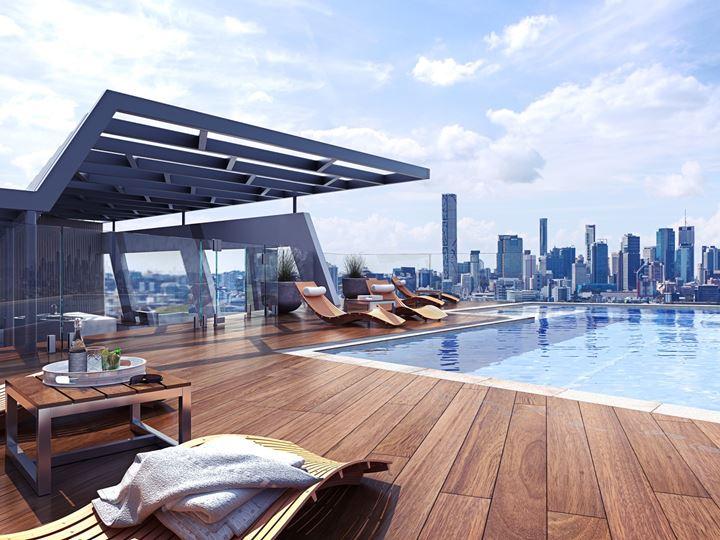 alto apartments pool