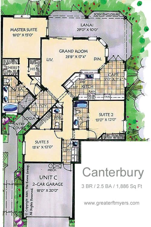 Canterbury tower showflat location showflat hotline 61007122 for Canterbury floor plan