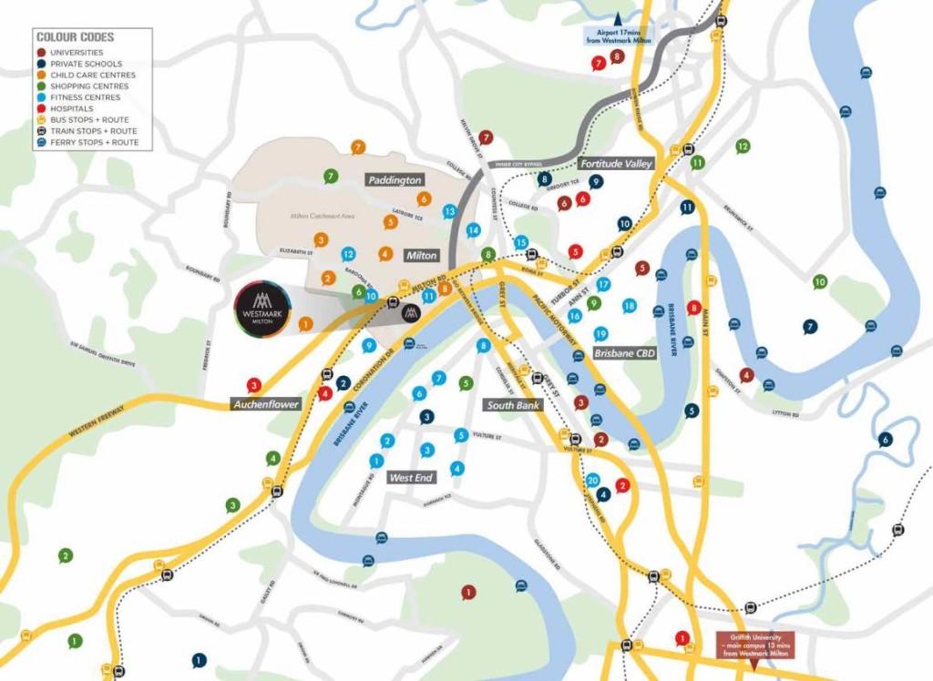 Westmark Apartments location map westmark milton Westmark Milton Australia | Showflat Hotline 61007122 0001